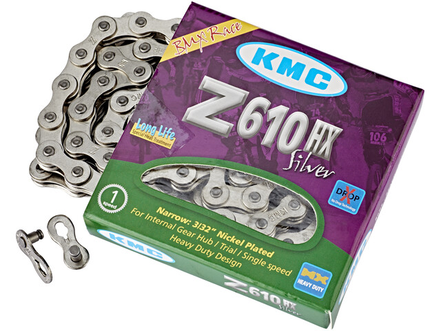 KMC Z610HX for gear hub Bicycle Chain grey